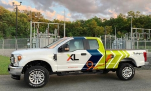 Hybrid Electric Ford F-250 Pickup by XL