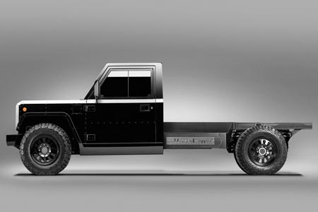 Bollinger Motors Unveils World