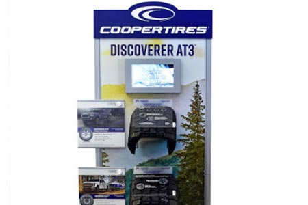 Cooper Tire's Discoverer AT3™ Interactive Marketing Display Earns Merchandising Award