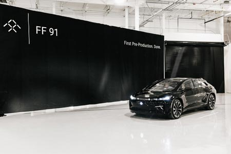 Faraday Future (FF) Teams Reach Build Milestone At Hanford Manufacturing Facility