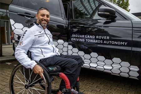 Jaguar Land Rover Gives Invictus Games Competitors a Glimpse Into an Autonomous Future