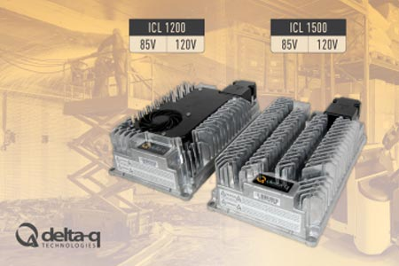 Delta-Q Technologies Showcases ICL Series of Lithium Battery Chargers